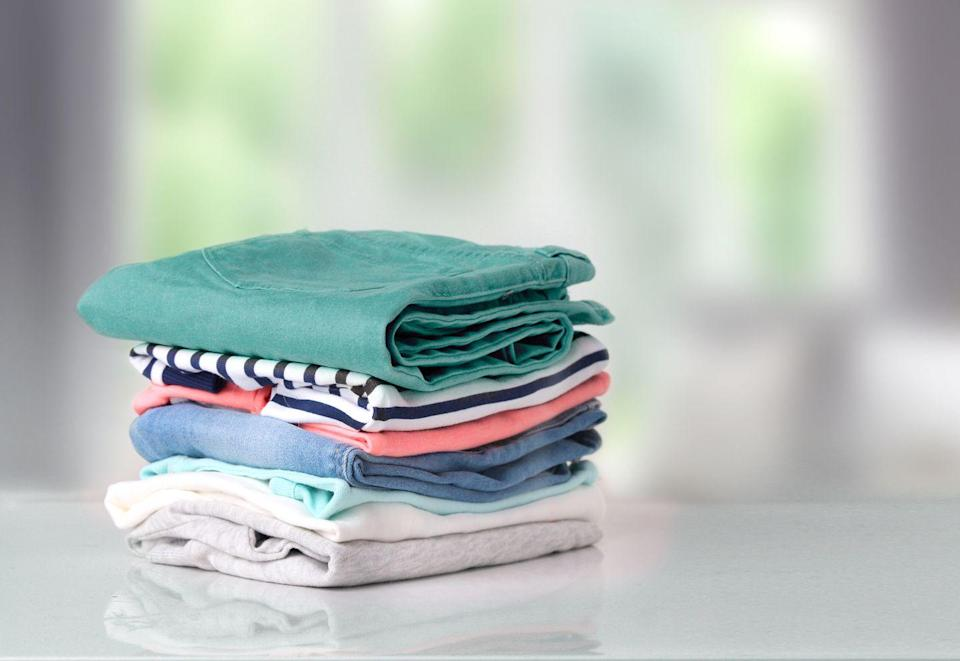 <p>Tend to clothing as soon as you take it off, says Jennings. Hang, launder, or fold every garment-and don't let anything hit the floor. Neglected clothing can slowly build up until it has created an overwhelming mound, she says.</p>