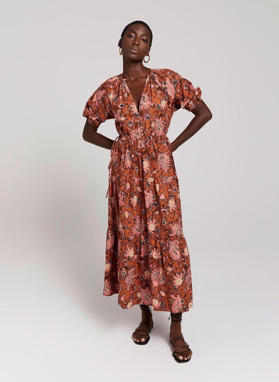<p>We love the dreamy print of this <span>Mischa Dress</span> ($495).</p>