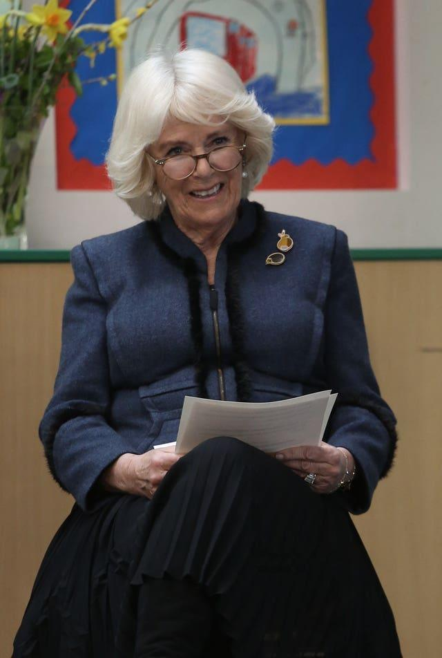 The Duchess of Cornwall on World Book Day