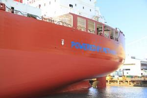 Launched in August 2019 and now in service as part of Waterfront Shipping's fleet