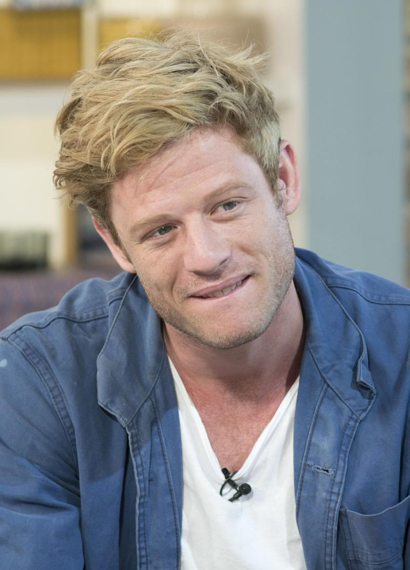 EDITORIAL USE ONLY. NO MERCHANDISING Mandatory Credit: Photo by S Meddle/ITV/REX/Shutterstock (4914119s) James Norton 'This Morning' TV Programme, London, Britain - 23 Jul 2015 James Norton The actor tells us about the raunchiest TV drama ever! Life In Squares BBC2 9pm Monday