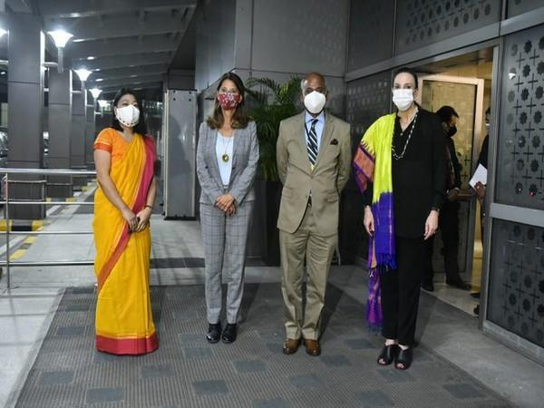 Colombian Vice President and Foreign Minister Marta Lucia Ramirez arrived in New Delhi. (Twitter)
