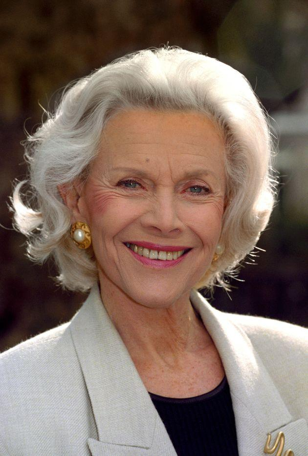 Honor Blackman pictured in 1996