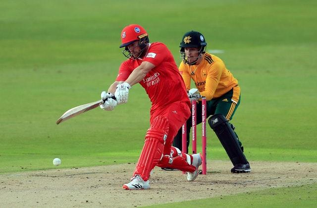 Steven Croft top-scored for Lancashire with 33