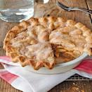 """<p>This recipe was inspired by the version that won Pam Brunet a blue ribbon at the LaFayette Apple Festival in New York. She layers a flour-and-cinnamon-sugar mixture with apples to create a dense, rich layer of fruit. Pam credits this recipe to her mother-in-law, Grandma Brunet. </p><p><a href=""""https://www.myrecipes.com/recipe/blue-ribbon-apple-pie-0"""" rel=""""nofollow noopener"""" target=""""_blank"""" data-ylk=""""slk:Blue-Ribbon Apple Pie Recipe"""" class=""""link rapid-noclick-resp"""">Blue-Ribbon Apple Pie Recipe</a></p>"""
