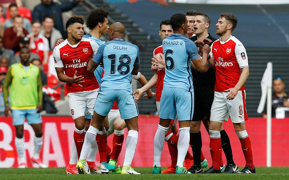 Arsenal Manchester City - Credit: Reuters