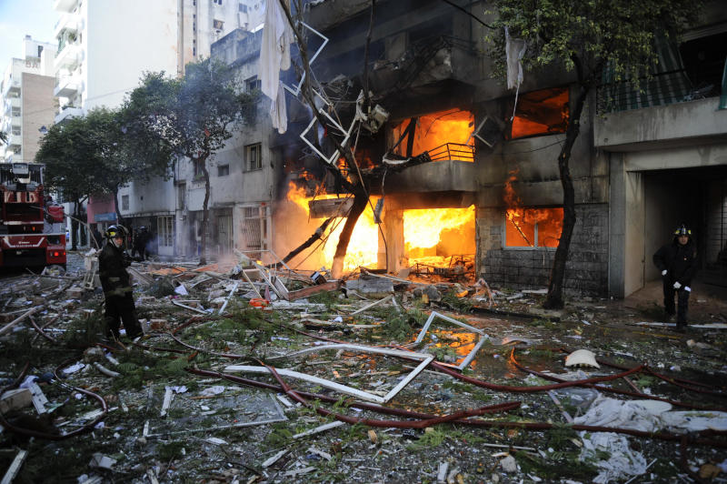 Argentina: Apartment building explosion kills 5