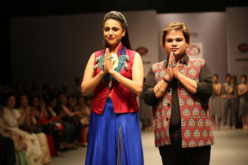 India Runway Week: Bling and Gargantuan Necklaces Dominate Day 3