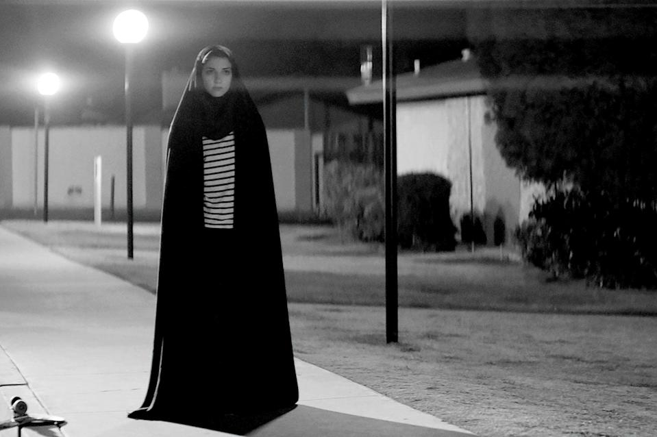 "<p><strong><em>A Girl Walks Home Alone At Night</em></strong>(2014)</p><p>The Girl (Shila Vandi) only comes out at night. She roams the streets of her Iranian town on a skateboard, wearing a chador — and keeping her eye out for men who are cruel to women. The Girl is a vampire, and she chooses her victims wisely.</p><p><strong>Why You Should Watch It:</strong> This is the first Middle Eastern feminist vampire spaghetti Western. It's a delight to watch such a refreshing look at the vampire movie genre, helmed by a vampire who keeps concert posters on her wall and really just wants to find an equal.</p><span class=""copyright"">Say Ahh Prods./Spectrevision/Logan/Black Light District/Kino Lorber/Kobal/REX/Shutterstock</span>"