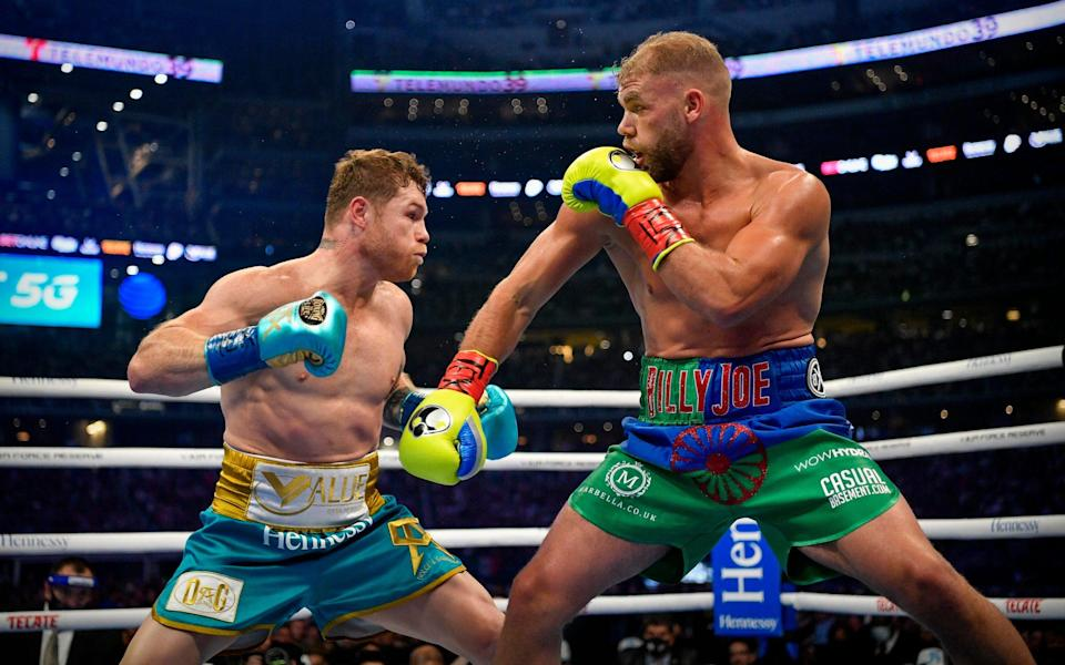 the fighters in action - Jerome Miron-USA TODAY Sports