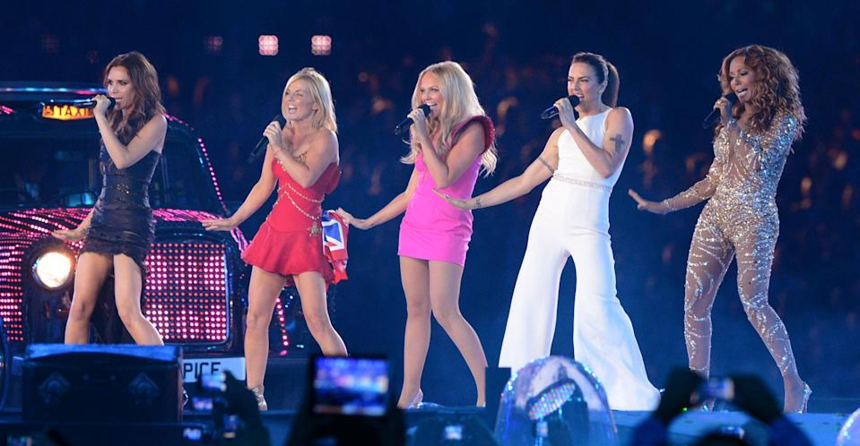 Spice Girls will return on tour but without Victoria Beckham (PA Images).