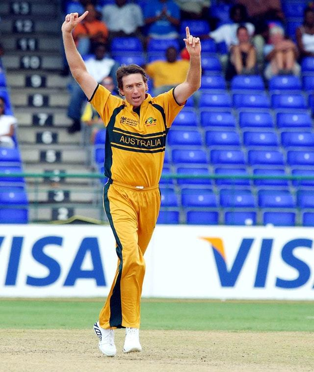 Glenn McGrath was the tournament's leading wicket taker