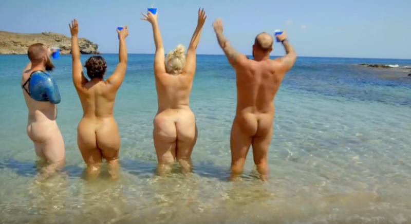 Naked Beach Reality Show Called Empowering