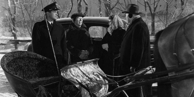 barbara stanwyck also starred in - Black And White Christmas Movie