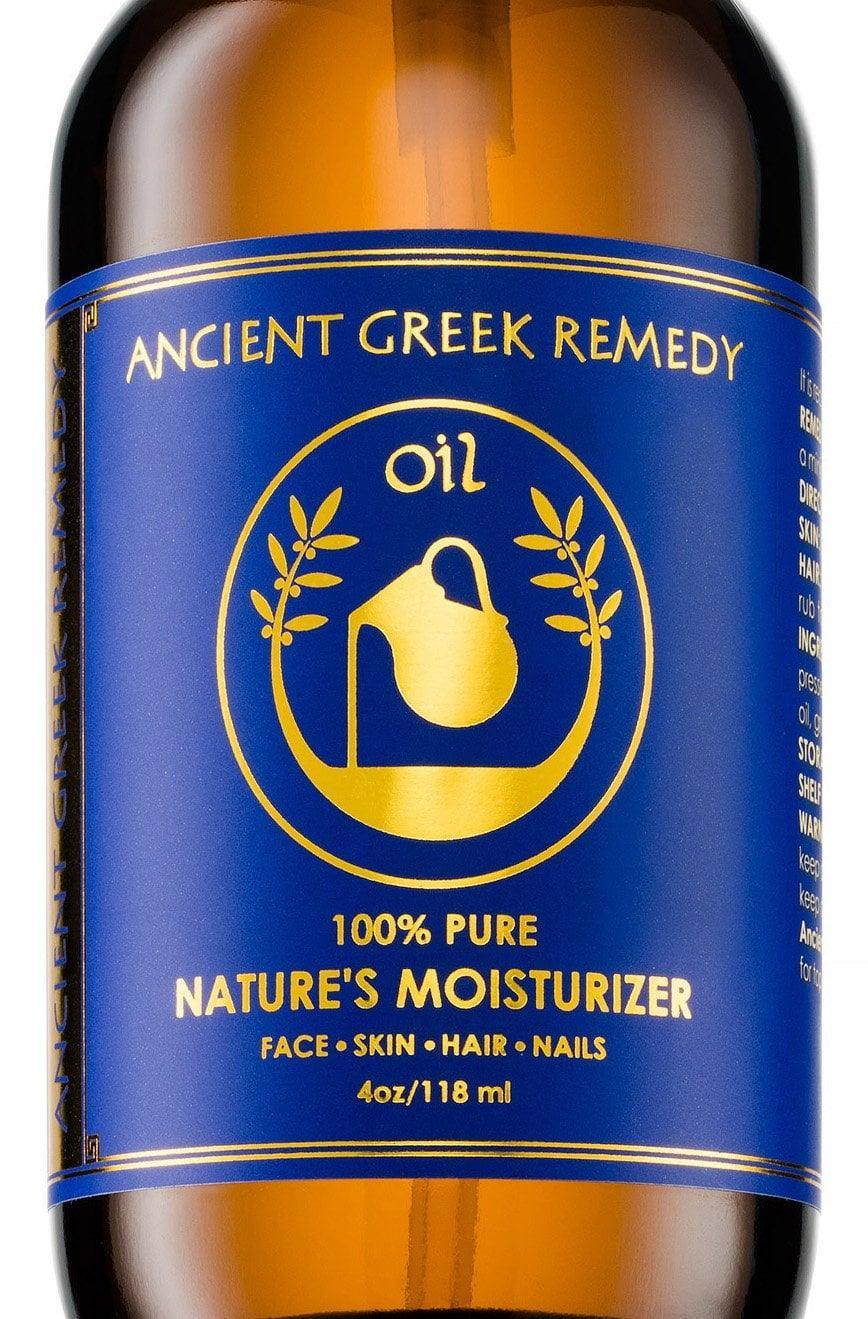 <p>Made with olive, lavender, almond and grapeseed oils, the <span>Ancient Greek Remedy Nature's Moisturizer Body Oil</span> ($15) will nourish your skin.</p>