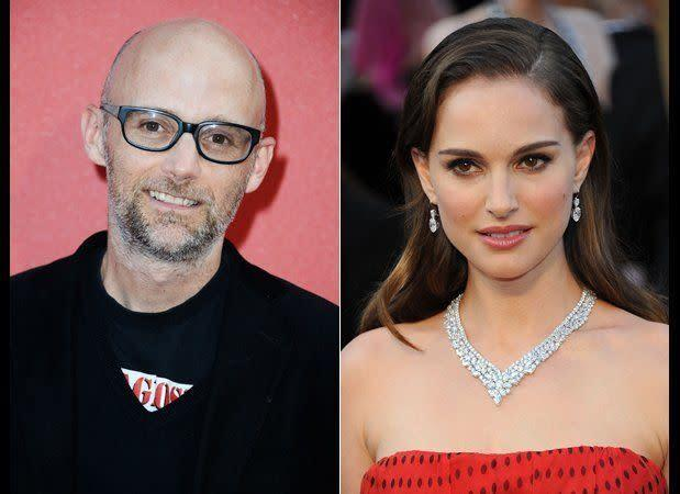 "According to Moby, his fling with Portman caused a lot of nerd wrath. ""You don't date Luke Skywalker's mom and not have them hate your guts,"" <a href=""http://www.nypost.com/p/pagesix/item_YRyKLctrCmIeaFysWHXogP#ixzz1wZUpAuA0"" rel=""nofollow noopener"" target=""_blank"" data-ylk=""slk:he said about their romance"" class=""link rapid-noclick-resp"">he said about their romance</a>."