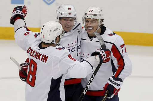 Ovechkin helps Capitals rally past Islanders to avoid sweep