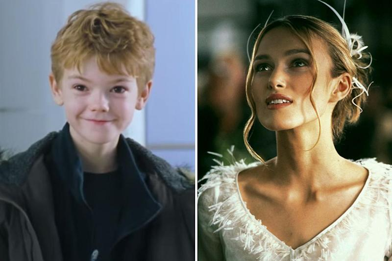 Revelation: Thomas Brodie-Sangster and Keira Knightley in Love Actually