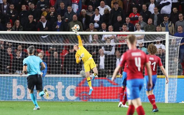 Jordan Pickford made some fine saves (Nick Potts/PA)