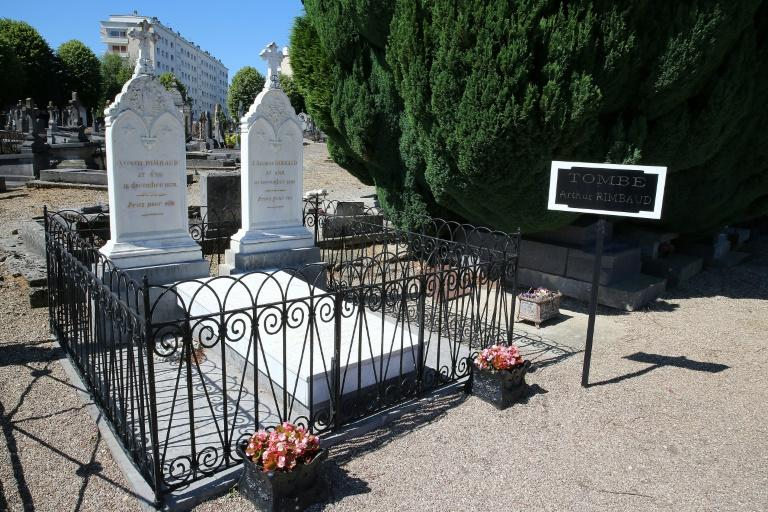 Rimbaud's current grave is in northeastern France