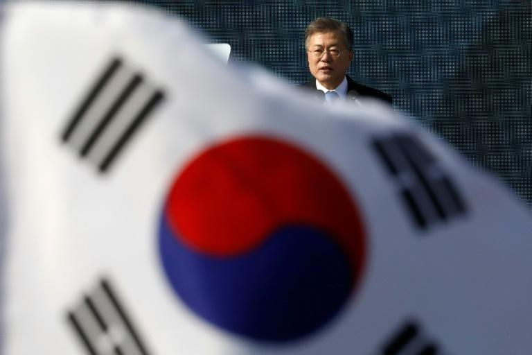 """Seoul is pushing for a declaration that the war is over as a prelude to the signing of a treaty, with South Korean President Moon Jae-in declaring Thursday it was a goal that """"must be pursued"""""""