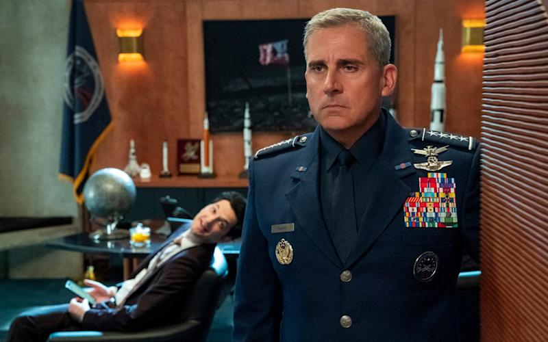 (Steve Carrell em Space Force Foto: Netflix)