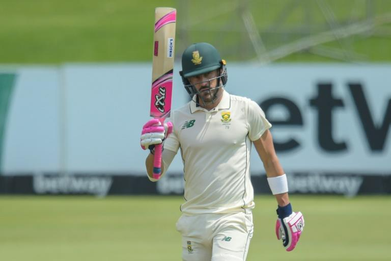 Faf du Plessis put South Africa in a dominant postition with his highest Test score