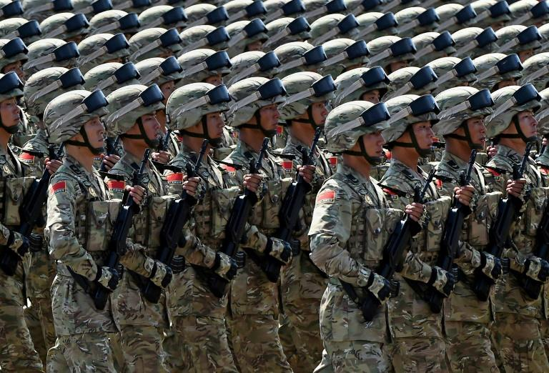 China marked the 70th anniversary of Japan's defeat in World War II with a huge military parade through Beijing's Tianamen Square in 2015
