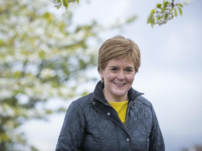 <p>Ms Sturgeon has sounded increasingly cautious over recent days</p> (PA)