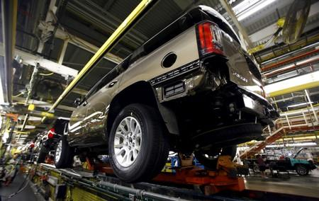 FILE PHOTO: GMC Yukon moves through the assembly line at the General Motors Assembly Plant in Arlington, Texas