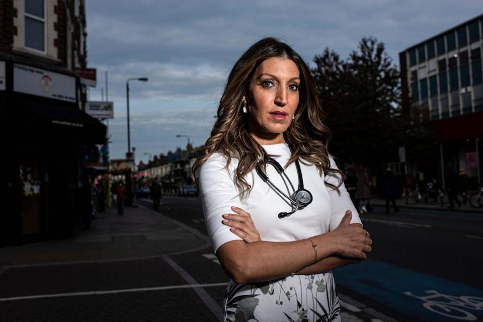 Labour MP for Tooting since the 2016 by-election, Dr. Rosena Allin-Khan, pictured in her constituency (Daniel Hambury)