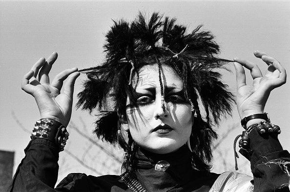 <p>With the '80s punk movement came interesting hairstyles that went against the grain. Punk activist Maria Perez wore her hair divided up into spiked sections for a buzz-worthy look. </p>
