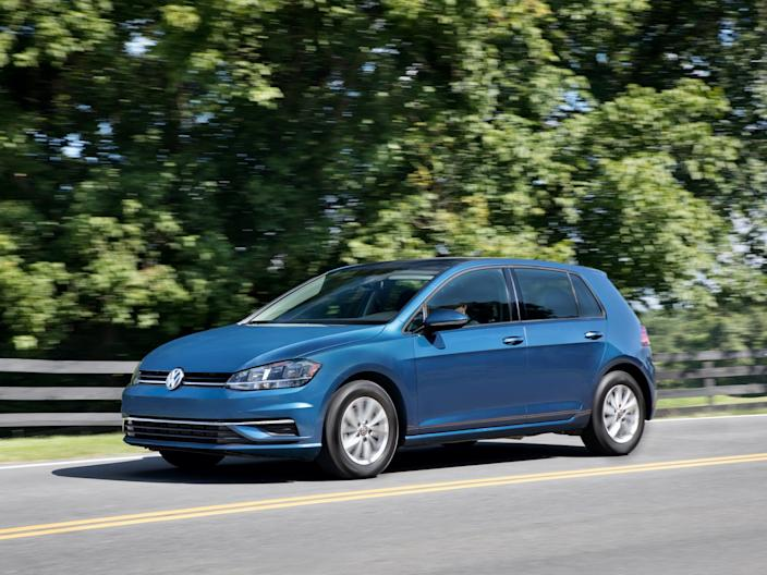 2018 Volkswagen Golf.