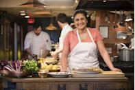 """<p>Samin Nosrat will make you want to enroll in culinary school—or at least book a nice dinner reservation. The James Beard Award-winning chef travels the globe to learn more about the four basic elements that make up the name of her show. Her passion for cooking and creating inventive recipes is obvious from the first few scenes.</p><p><a class=""""link rapid-noclick-resp"""" href=""""https://www.netflix.com/title/80198288"""" rel=""""nofollow noopener"""" target=""""_blank"""" data-ylk=""""slk:Watch Now"""">Watch Now </a></p>"""