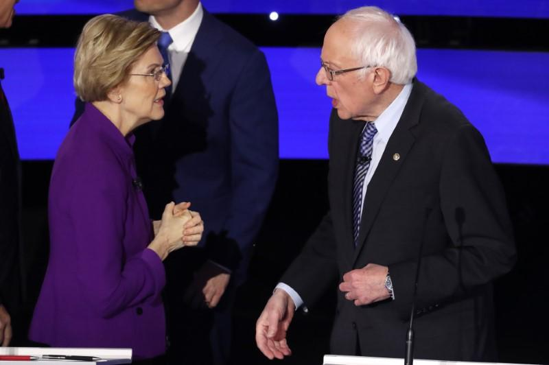 As Warren-Sanders spat intensifies, liberal grassroots groups seek to calm tensions