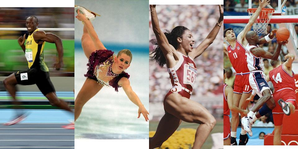 <p>With the 2020 Tokyo Olympics postponed until at least 2021, let's do the next best thing: Revisit some of the most defining sports accomplishments in Olympic history. </p>