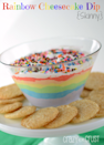 """<p>Dip sugar cookie gold coins in this rainbow dessert ... or just eat it with a spoon.</p><p>Get the recipe from <a href=""""http://www.crazyforcrust.com/2013/03/rainbow-cheesecake-dip/"""" rel=""""nofollow noopener"""" target=""""_blank"""" data-ylk=""""slk:Crazy for Crust"""" class=""""link rapid-noclick-resp"""">Crazy for Crust</a>.</p>"""