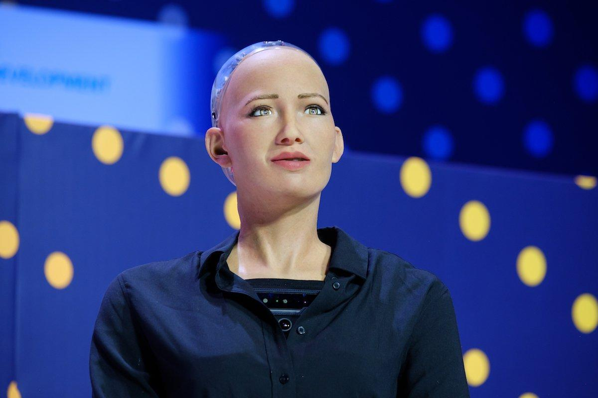 Jeffrey Epstein told a journalist he funded Sophia the robot, who he claimed would have 'more empathy than a woman'