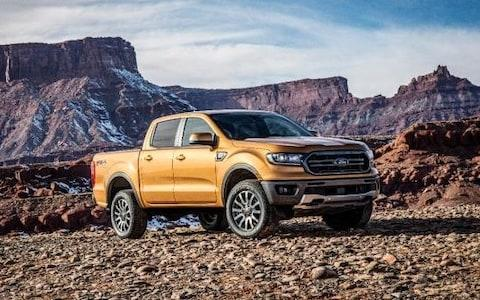 Ford Ranger at Detroit auto show - Jan 2018