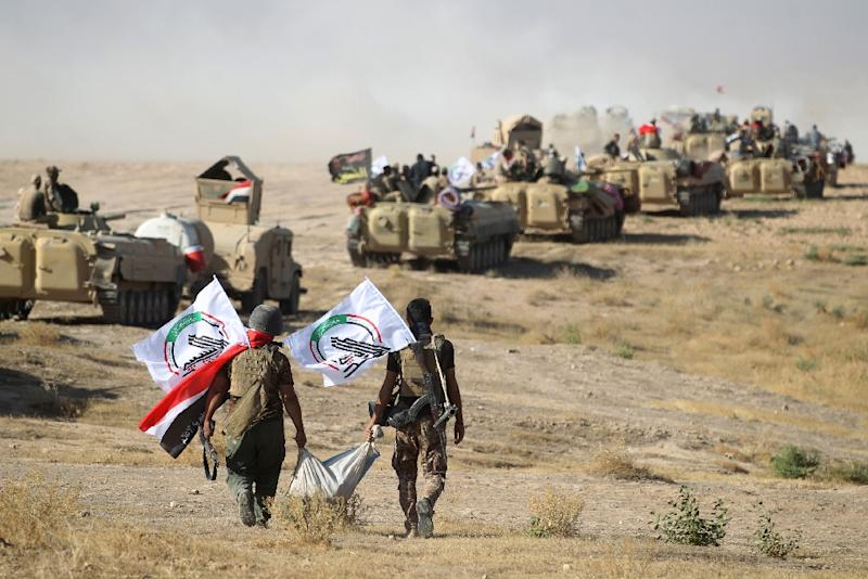 Iraqi forces make gains in Islamic State stronghold of Tal Afar