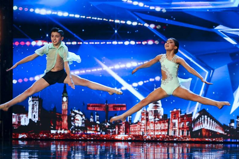 Dancers: Libby and Charlie (Syco / Thames)