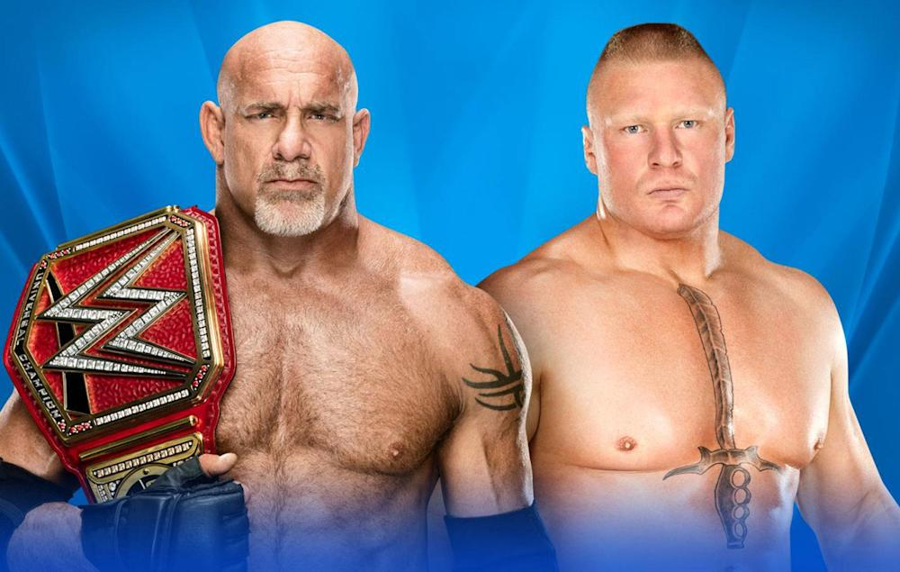Goldberg and Brock Lesnar meet at WrestleMania 33, 13 years after their first encounter: WWE