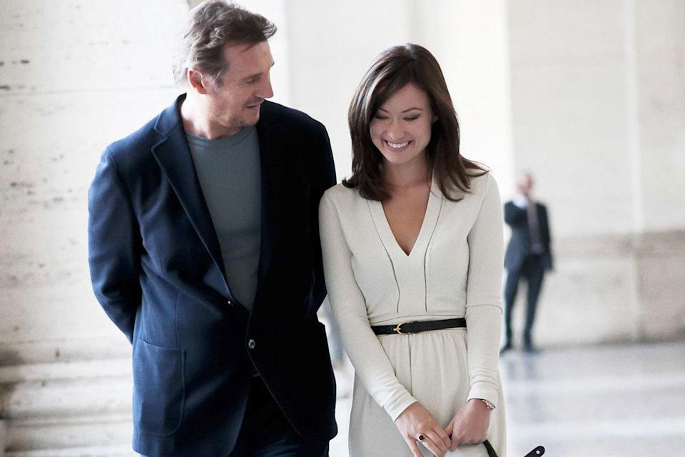 Liam Neeson was 61 and Olivia Wilde was 29 in 'Third Person' Age gap: 32 years