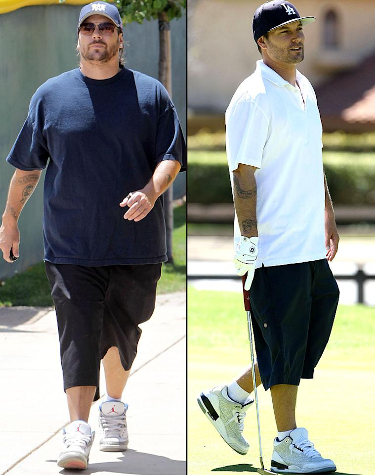 "The former Mr. Britney Spears, Kevin Federline, has been battling the bulge in recent years, and has even participated in not one but two ""celebrity"" weight-loss reality shows -- first on ""Celebrity Fit Club"" in 2010 and most recently on Australia's ""Excess Baggage."" The second time is the charm, it seems, and the 34-year-old debuted his new bod during a golf outing in Los Angeles on Wednesday. The one-time backup dancer lost 35 pounds over four months. (3/21/2012)"