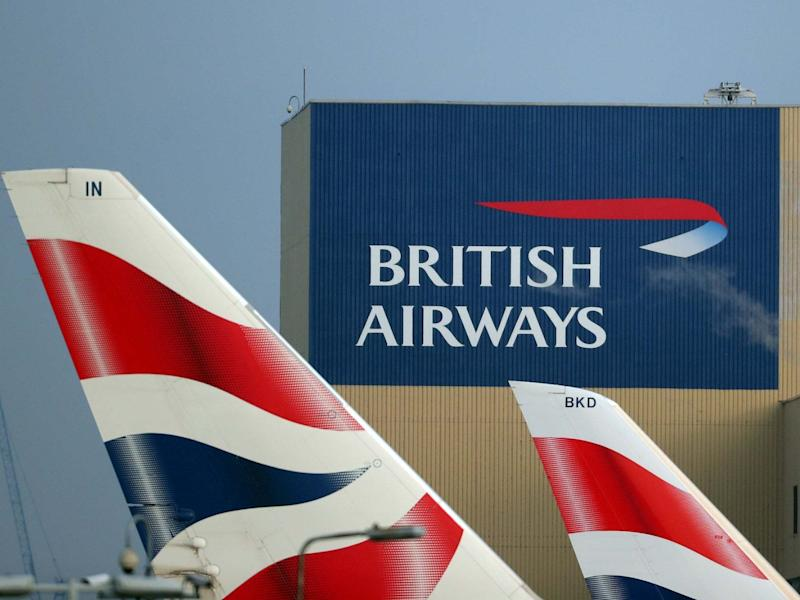 Tens of thousands of British Airways were affected: HANNAH MCKAY
