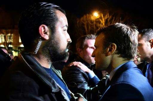 Alexandre Benalla was head of security during Emmanual Macron's successful election campaign last year, before transferring to the presidential staff in May 2017