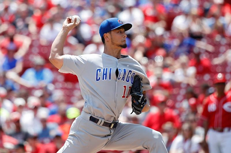 Cubs place Darvish on 10-day DL