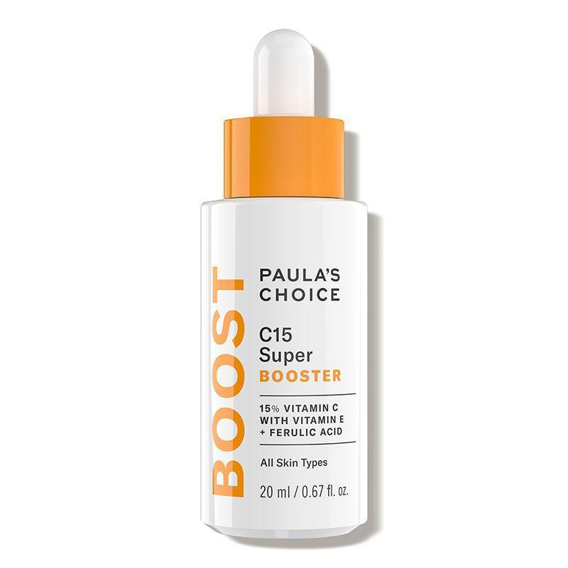 "<p><strong>Paula's Choice</strong></p><p>dermstore.com</p><p><strong>$49.00</strong></p><p><a href=""https://go.redirectingat.com?id=74968X1596630&url=https%3A%2F%2Fwww.dermstore.com%2Fproduct_C15%2BSuper%2BBooster_54588.htm&sref=https%3A%2F%2Fwww.cosmopolitan.com%2Fstyle-beauty%2Fbeauty%2Fg12091058%2Fbest-vitamin-c-serum-face-skin%2F"" rel=""nofollow noopener"" target=""_blank"" data-ylk=""slk:Shop Now"" class=""link rapid-noclick-resp"">Shop Now</a></p><p>You don't have to switch up your existing skincare routine just to incorporate some vitamin C. <strong>M</strong><strong>ix a few drops of this vitamin C booster serum into your <a href=""https://www.cosmopolitan.com/style-beauty/beauty/g21950910/best-face-moisturizer-skin-type/"" rel=""nofollow noopener"" target=""_blank"" data-ylk=""slk:daily moisturize"" class=""link rapid-noclick-resp"">daily moisturize</a></strong><strong><a href=""https://www.cosmopolitan.com/style-beauty/beauty/g21950910/best-face-moisturizer-skin-type/"" rel=""nofollow noopener"" target=""_blank"" data-ylk=""slk:r"" class=""link rapid-noclick-resp"">r</a></strong> or SPF (IMO, it blends perfectly with cream-based formulas) to give your skin some added protection against UV damage and pollution.</p>"