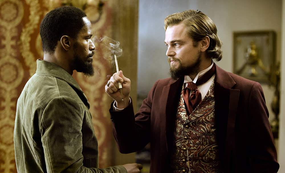 "In ""Django Unchained,"" there is a Nefertiti-bust replica in the villa of Leonardo DiCaprio's character. That bust was not discovered until 1912, but the film is set in 1858."