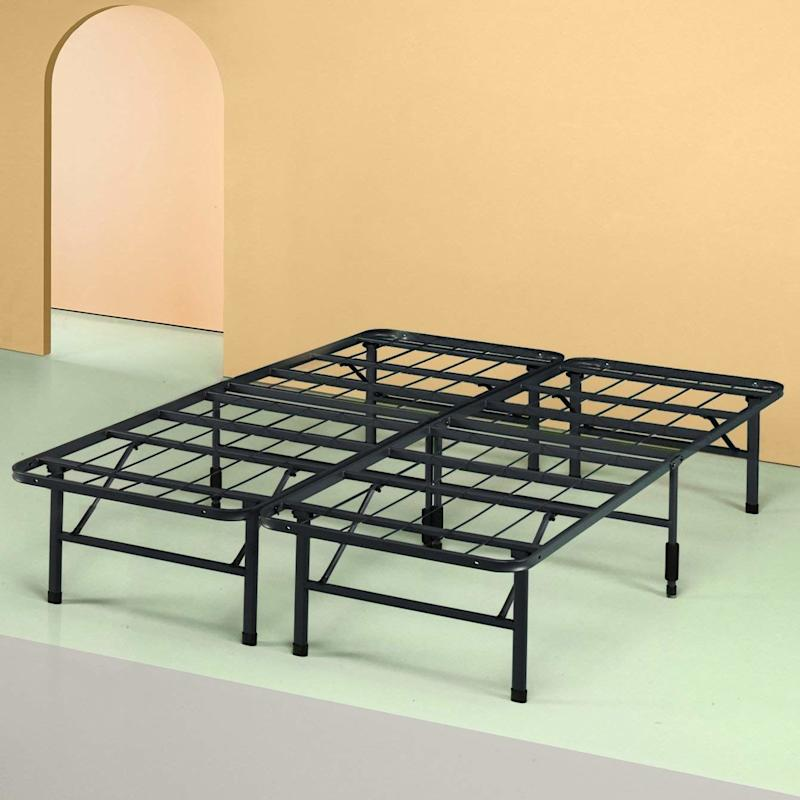 Amazon's super-reviewed bed frame. SHOP NOW: Zinus Shawn 14-inch SmartBase Mattress Foundation, from $45, amazon.com